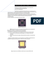 Arquictetura CISC y RISC