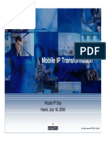 Alcatel-Mobile IP Transformation
