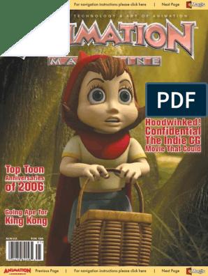 Animation Magazine 20-01 - Jan 2006 - Hoodwinked