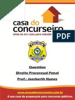 Questoes Direito Processual Penal Joerberth Nunes
