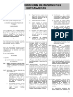 Ley No. 344 y Decreto 74-2000 (Reglamento) de Promocion Inversiones Extranjeras