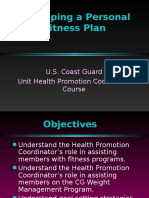 Develop a Fitness Plan