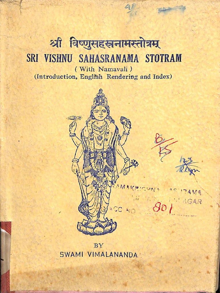 Vishnu Sahasra Namavali In Gujarati Pdf Download