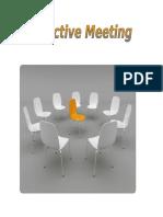 Effective Meeting Basics