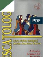Alberto f Roldan Escatologia