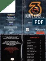 Mortal Kombat 3 - 1996 - Williams, Inc.