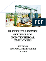Electrical Power System for Non Technical Employees