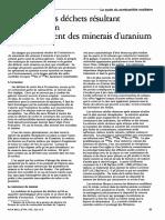 Exploitation d'Uranium