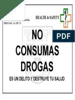 No Consumas Drogas