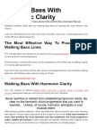 Walking Bass Basics