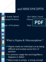 Stigmas & Misconcept 2