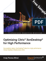 Optimizing Citrix® XenDesktop® for High Performance - Sample Chapter