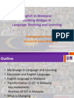 English in Malaysia - Building Bridges in Language Teaching and Learning-1