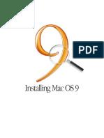 Installing OS 9 (Manual)