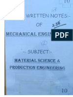 ME 10.Material Science & Production Engineering