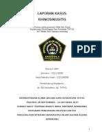 Laporan Kasus Sutrisno Rhinosinusitis