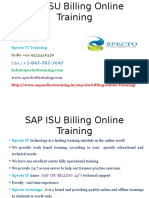 SAP ISU Billing Online Training in Usa
