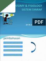 Anatomi & Fisiologi Syaraf d3