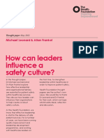 How can leaders influence a safety culture thought paper.pdf