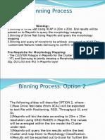 Procedure for Binning using xcal