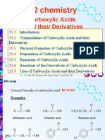 A2 Chemistry Carboxylic Acids and Their Derivatives