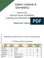 electricians licence  u0026 39 a u0026 39   domestic  maltese syllabus