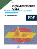 Méthodes numériques appliquées Pour le scientifique et l_ingénieur-EDP Science.pdf