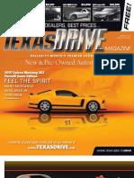 Texas Drive Magazine Apr 5-18, 2010 Issue