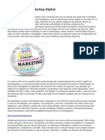 Agencia sobre Marketing Digital