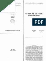 Muhimme Defteri; Dokumenti o Našim Krajevima - Ešref Kovačević