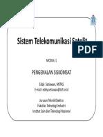 SISKOMSAT MODUL-1 Pengenalan Siskomsat_2014