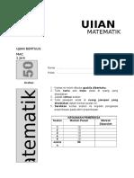 2015 Cover Page Ujian Mat t2