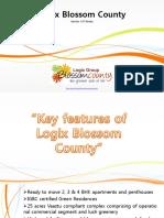 Blossom County Noida   Logix Blossom County Noida