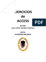 Ejercicios de Access Resueltos