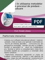 Bune practici în utilizarea metodelor interactive