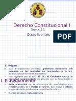DERECHO CONSTITUCIONAL I (España)otras fuentes.pps