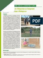 Capacité d'Adaptation au Changement Climatique à Madagascar