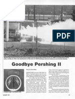 """Goodbye Pershing II"". Soldiers (United States Army)"