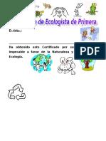 Certifica Do Ecologist A