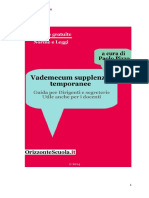 vademecum supplenze - scuole