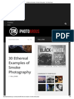 30 Ethereal Examples of Smoke Photography - The Photo Argus