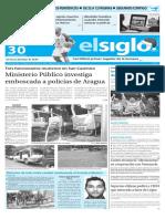 Edición Impresa El Siglo 30-12-15