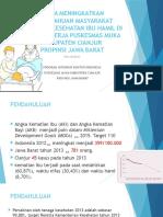 Upaya Meningkatkan Pengetahuan Masyarakat Tentang Kesehatan Ibu Hamil
