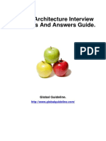 System Architecture Job Interview Preparation Guide