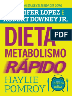 Dieta Do Metabolismo Rapido - Haylie Pomroy