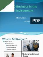 Motivation Lecture Presentation