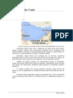 Emiratele Arabe Unite Referat