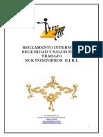 Reglamento Interno Trabajo Nck 2015