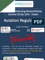 EE - EASA & CA Seminar - 29 Apr 2014 - Dublin