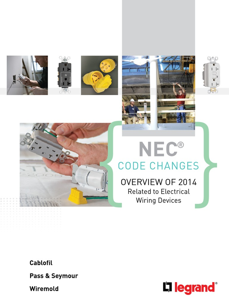 2014 NEC Codebook pdf | Electrical Wiring | Cable